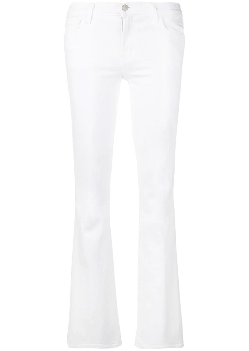 J Brand low-rise bootcut trousers