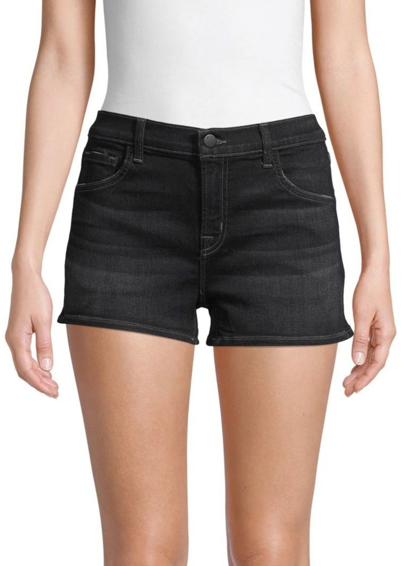J Brand Low-Rise Denim Shorts