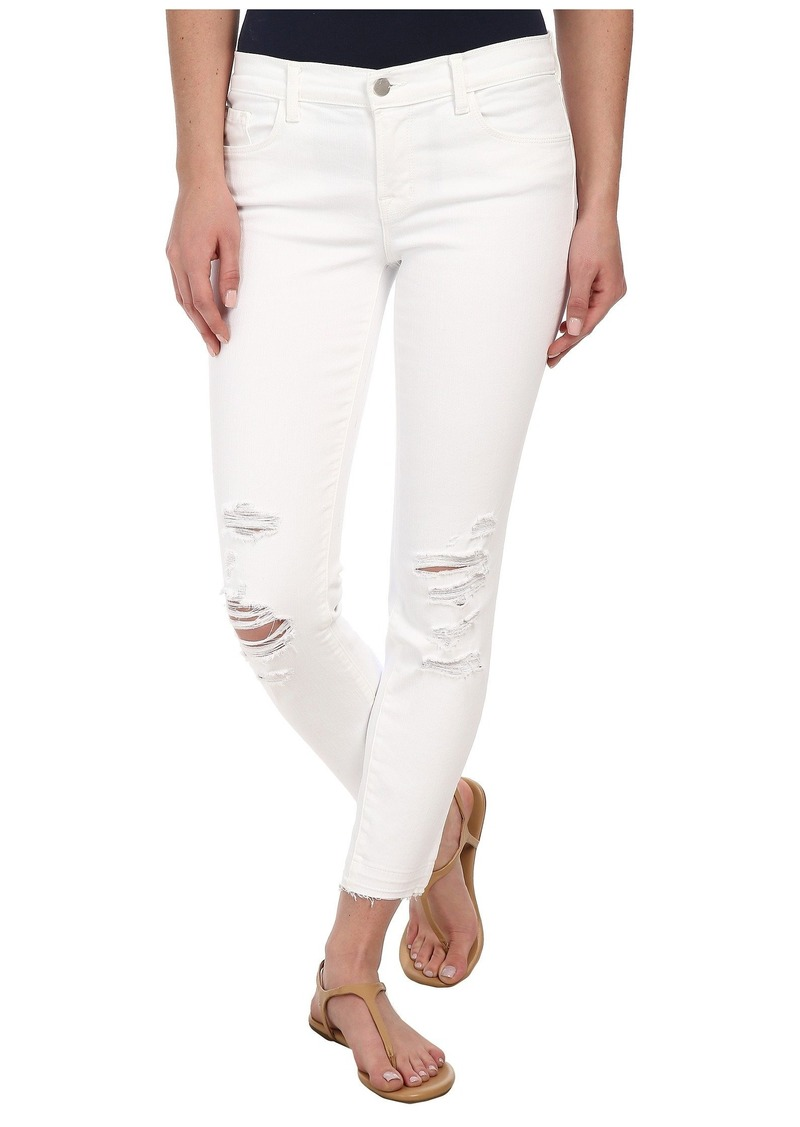 J Brand Low Rise Destructed Crop in Demented