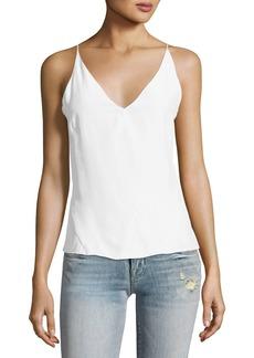 J Brand Lucy Matte Silk Camisole Top