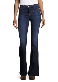 J Brand Maria High-Rise Flare Jeans