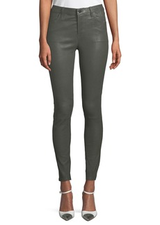 J Brand Maria High-Rise Leather Pants