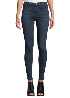 J Brand Maria High-Rise Skinny Ankle Jeans