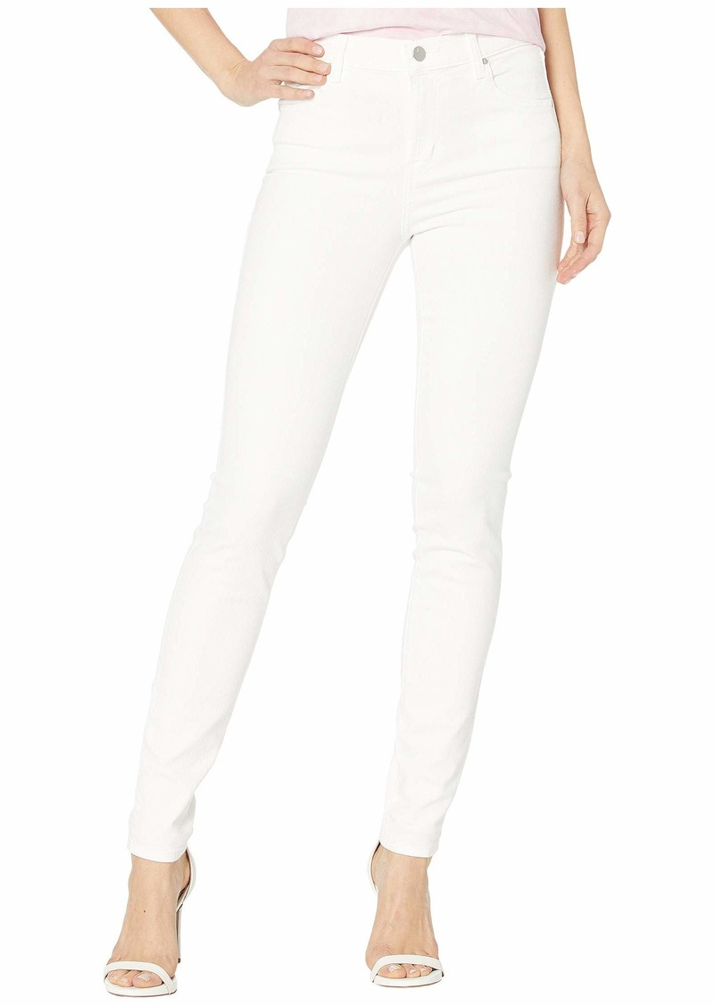 J Brand Maria High-Rise Skinny in Blanc