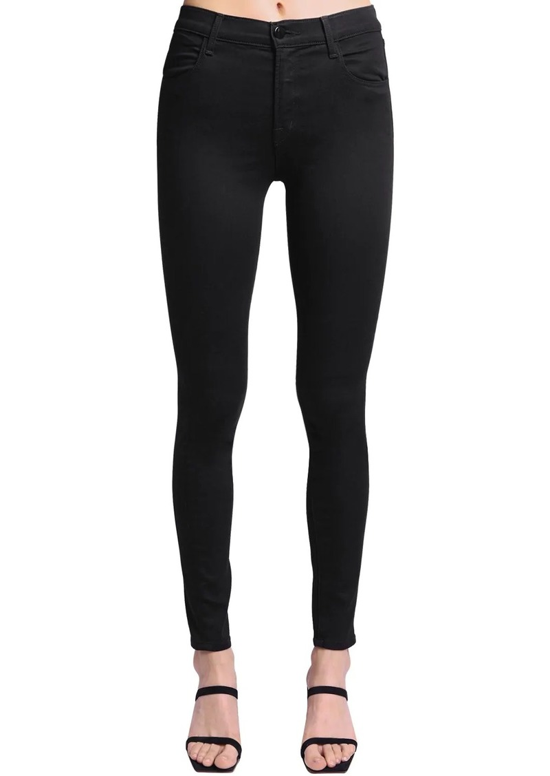 J Brand Maria High Rise Stretch Skinny Jeans