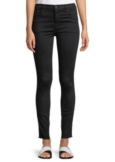 J Brand Maria High-Rise Super Skinny Jeans with Braid Side