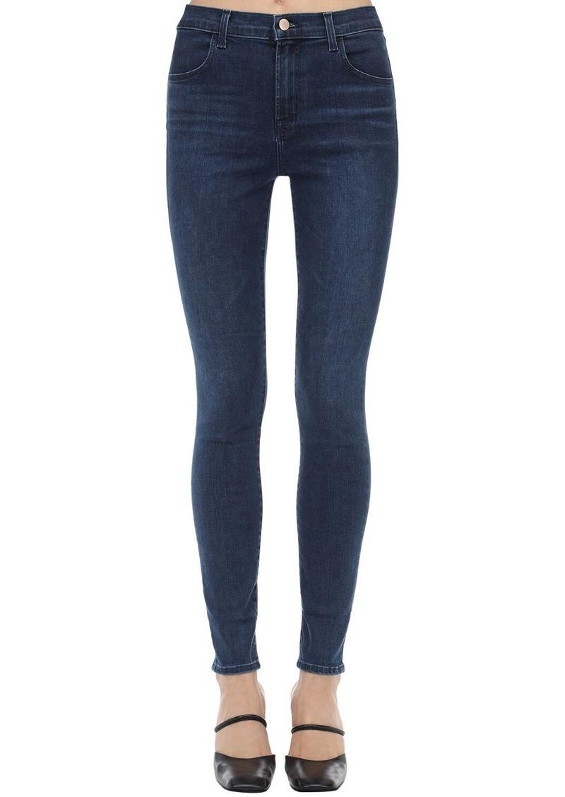 J Brand Maria High Skinny Stretch Denim Jeans