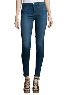 J Brand Maria High-Waist Skinny Jeans  Activate