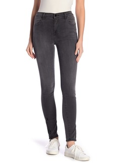 J Brand Maria High Waisted Skinny Zipper Jeans