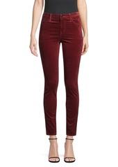 J Brand Maria Skinny Velvet Pants