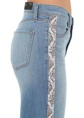 J Brand Maria Stretch Denim Jeans W/ Side Bands