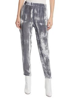 J Brand Marlee Velvet Jogger Pants