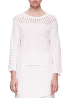 J Brand Marsha Squiggle Knit Sweater
