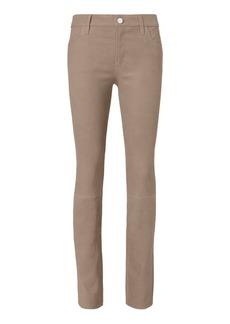 J Brand Maude Cigarette Leather Pants