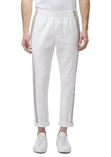 J Brand Men's Junctim Side-Stripe Jogger Pants