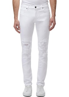 J Brand Men's Mayhem Mick Mid-Rise Distressed Skinny Jeans