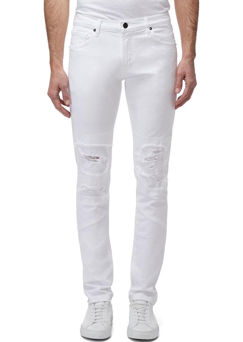J Brand Men's Mayhem Mick Mid-Rise Distressed Skinny Jeans