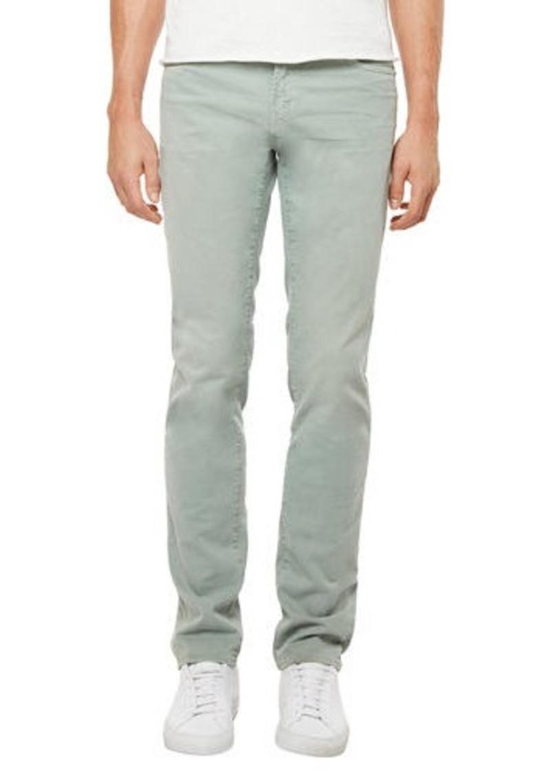 J Brand Men's Tyler Slim-Fit Distressed Stretch Twill Pants