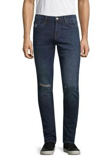 J Brand Mick Distressed Skinny-Fit Jeans