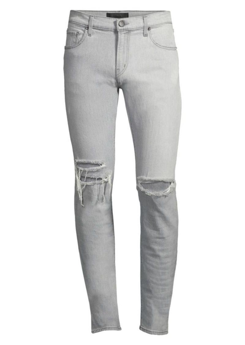 J Brand Mick Distressed Skinny Jeans