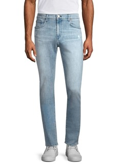 J Brand Mick Distressed Slim-Fit Jeans