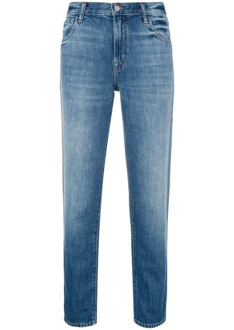 J Brand mid-rise boy fit jeans