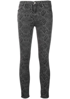 J Brand mid-rise cropped trousers