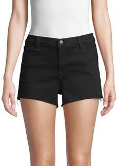 J Brand Mid-Rise Denim Shorts
