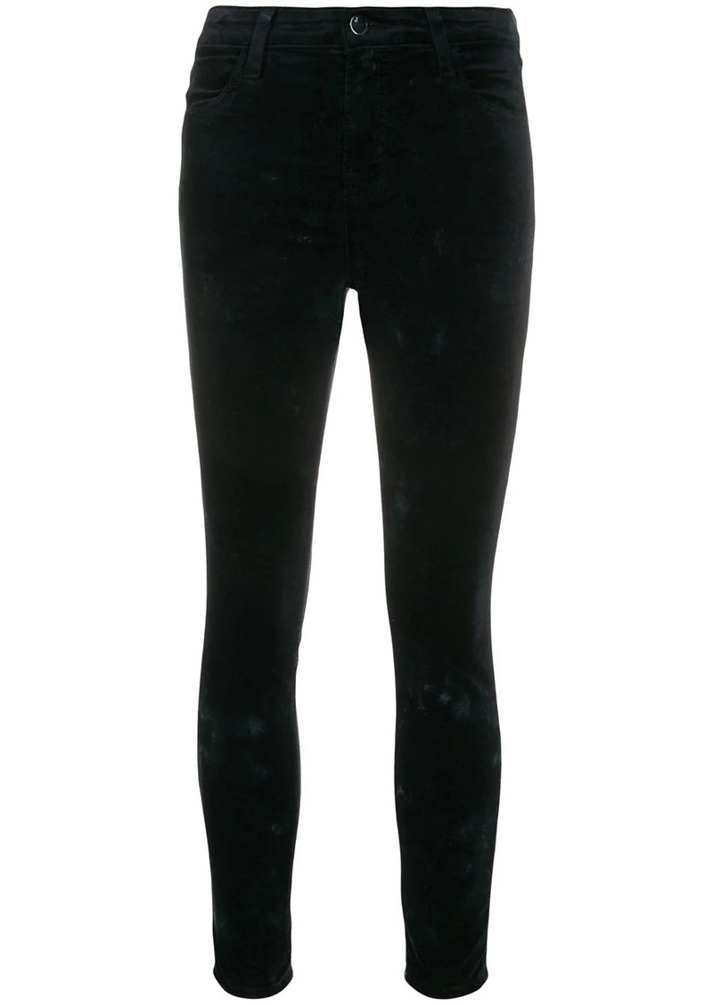 J Brand mid rise skinny trousers