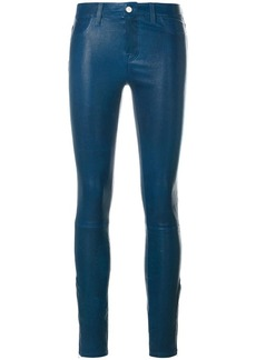 J Brand mid-rise skinny trousers