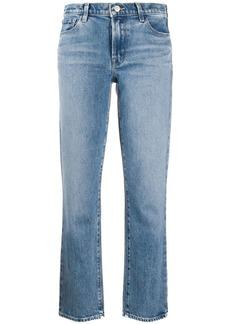 J Brand mid rise straight-leg jeans
