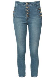 J Brand Natasha Cotton Denim Skinny Jeans