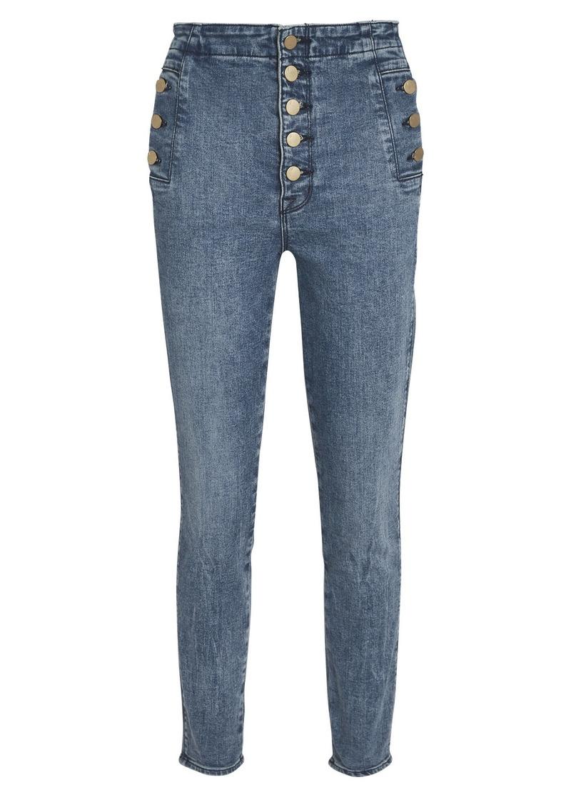 J Brand Natasha High-Rise Skinny Jeans