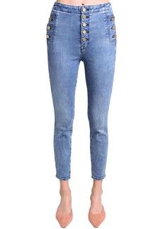 J Brand Natasha High Rise Stretch Skinny Jeans