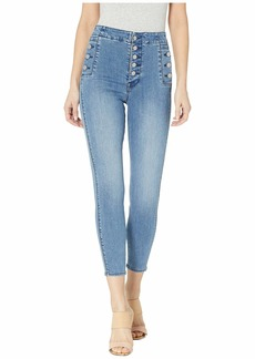 J Brand Natasha Sky High Crop Skinny in Vega