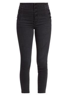 J Brand Natasha Sky-High Cropped Skinny Jeans