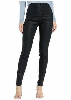 J Brand Natasha Sky High Skinny Jeans in Fearful