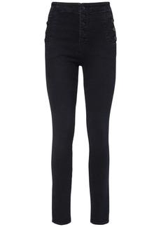 J Brand Natasha Sky High Waist Skinny Jeans