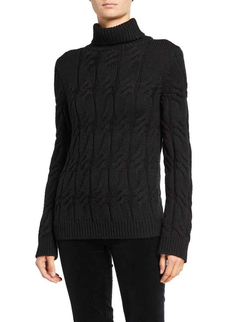 J Brand Noella Wool Turtleneck Sweater