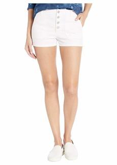 J Brand Nomey Utility Shorts in White