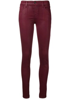 J Brand oil coated skinny jeans