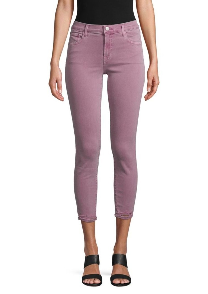 J Brand Photo Ready Mid-Rise Capri Jeans