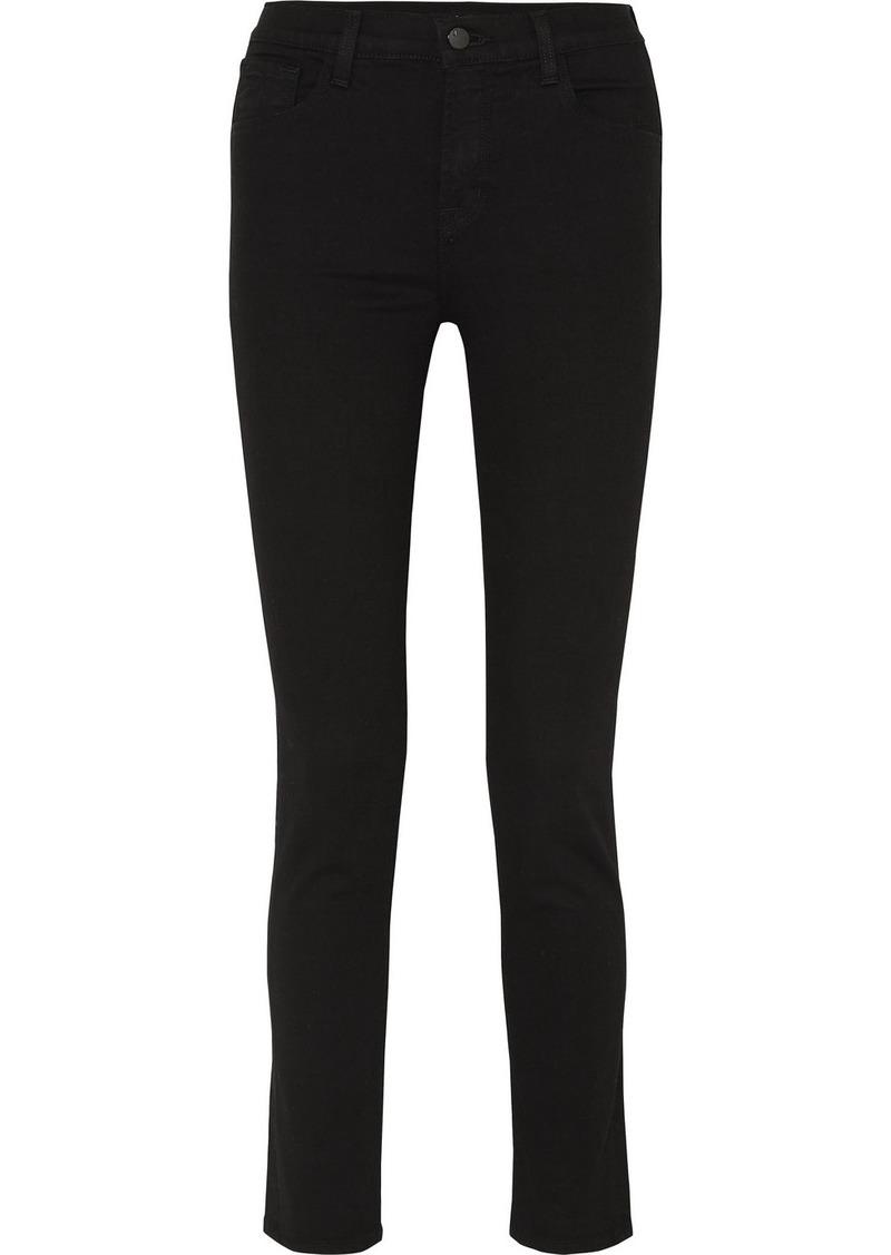 "J Brand Photo Ready Ruby 30"" High-rise Slim-leg Jeans"