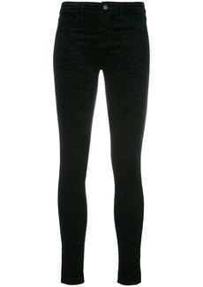 J Brand printed slim-fit pants