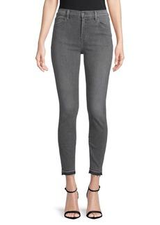 J Brand Raw-Hem Skinny Jeans