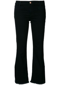 J Brand raw hem trousers