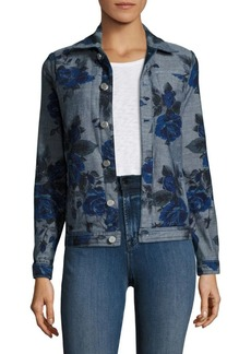 J Brand Reversible Oversized Denim Jacket