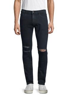 J Brand Ripped Skinny Jeans