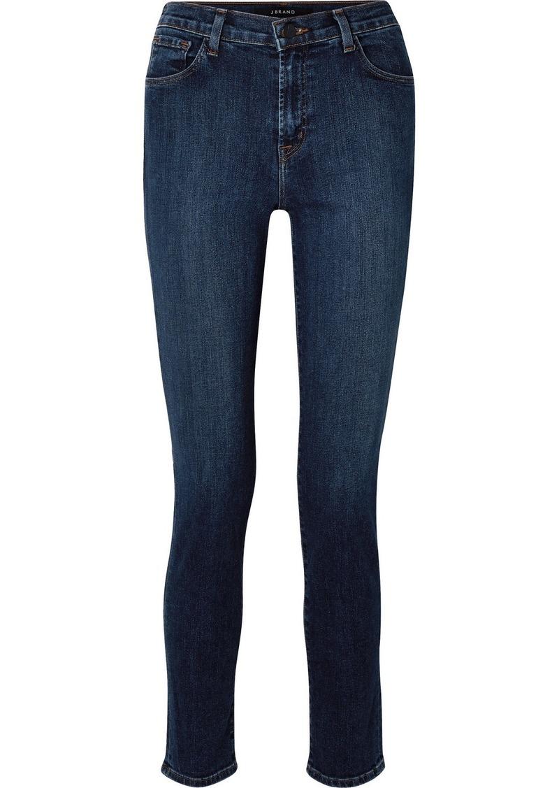 "J Brand Ruby 30"" High-rise Slim-leg Jeans"