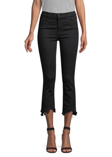 J Brand Ruby High-Rise Crop Jeans